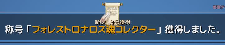 190302 フォレストロナロス魂コレクター